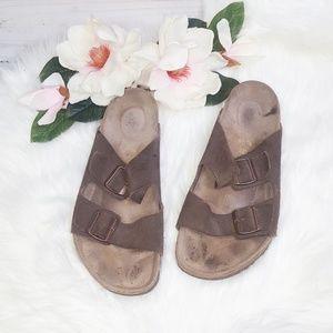 Birkenstock | Brown Arizona Sandals